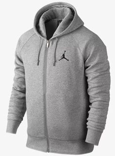 d9e6716f63 Men s nike jordan jumpman hoodie jacket full zip fleece 845861 063 size xl  nwt