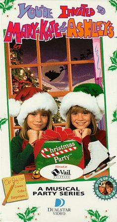 Mary-Kate and Ashley Collection * G + Family, Musical ~ You're Invited to Mary-Kate and Ashley's = Christmas Party - 1997