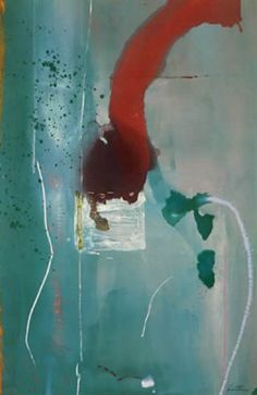 Square One, 1985 by Helen Frankenthaler. Abstract Expressionism, Lyrical Abstraction. abstract. Private Collection