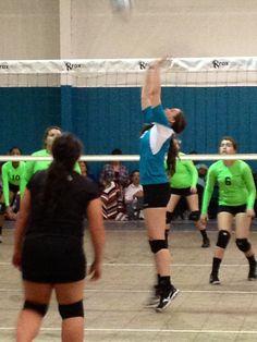 My niece Hannah, Volleyball Setter #jjva
