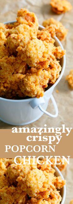 popcorn chicken | crispy chicken | buttermilk fried popcorn chicken | spicy fried chicken | spicy popcorn chicken