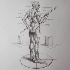 Exceptional Drawing The Human Figure Ideas. Staggering Drawing The Human Figure Ideas. Figure Drawing Tutorial, Human Figure Drawing, Figure Drawing Reference, Anatomy Reference, Drawing Tutorials, Pose Reference, Contour Drawing, Gesture Drawing, Guy Drawing