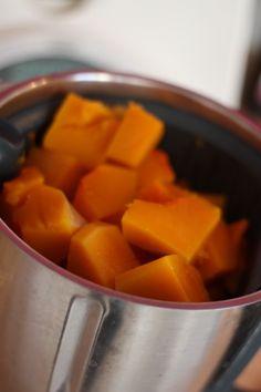 Recette de la purée de courge butternut aux épices