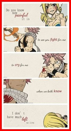 Fairy Tail- NaLu :'( th-th-th-this is s-s-so BEUTIFUL! (crying in the background)