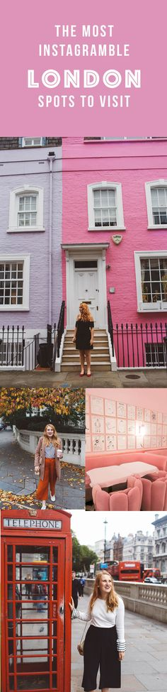 Most instagrammable spots in London #travel