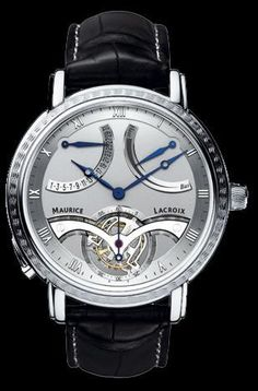 TOURBILLON RETROGRADE watch by Maurice Lacroix on Presentwatch.com
