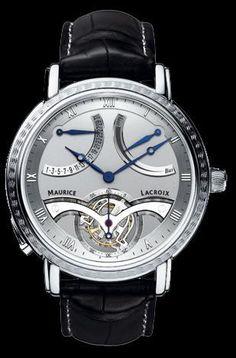 TOURBILLON RETROGRADE watch by Maurice Lacroix on Presentwatch.com