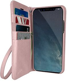 Silk iPhone XS Max Wallet Case - Keeper of The Things - Folio Wallet Synthetic Leather Portfolio Flip Credit Card Cover with Kickstand Iphone Deals, Iphone 10, Iphone 8 Plus, Best Amazon, Amazon Deals, Cash Wallet, Leather Portfolio, Iphone Hacks, Flip Cards