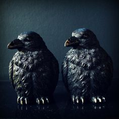 Back in store after selling out due to popularity! The gothic Ravens Bookends.