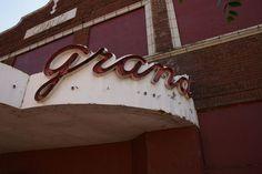 Grand Theatre - Alton, Illinois (Markee)