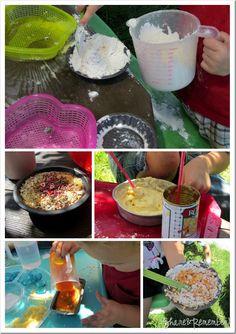 Preschool Outdoor Play Kitchen