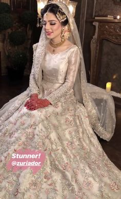 Best Beauty Salons - Best Bridal Makeup in Pakistan - PakCheers Pakistani Wedding Outfits, Pakistani Wedding Dresses, Bridal Outfits, Indian Dresses, Wedding Dresses For Girls, Wedding Party Dresses, Prom Dresses, Pakistan Bride, Nikkah Dress