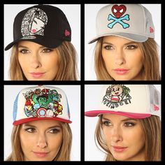 Ladies! Looking for snapbacks? Check out these    cute snapbacks by Tokidoki. Worth copping. Get 20% Off on your first order at Karmaloop. Use RepCode: SALES at checkout. #Karmaloop #Tokidoki http://www.karmaloop-codes.com