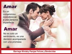 Amar es hacer un compromiso con una persona imprefecta #amor #teamo #matrimoniosfelicesybendecidos