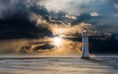 Free Image on Pixabay - Lighthouse, Glow, Evening, Clouds Relaxing Harp Music, Free Pictures, Free Images, Amazing Nature Photos, Interesting Photos, Lighthouse Photos, Prayer For The Day, Book Design Layout, Praise And Worship