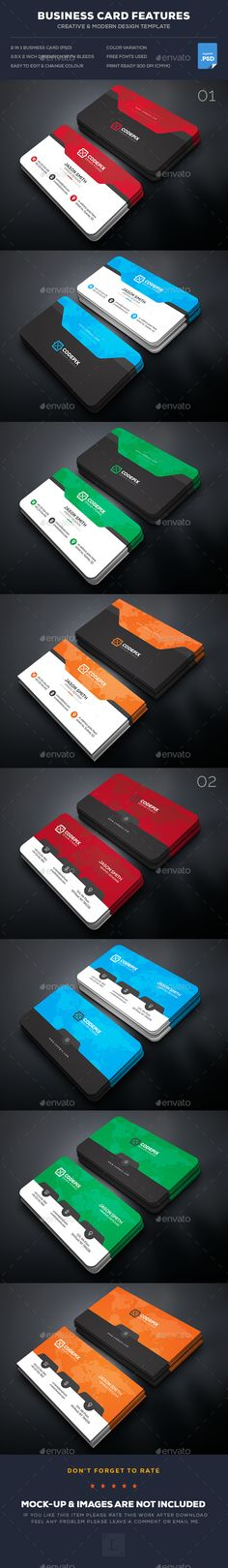 Soft Business Card Bundle Templates PSD. Download here: https://graphicriver.net/item/soft-business-card-bundle/17120689?ref=ksioks