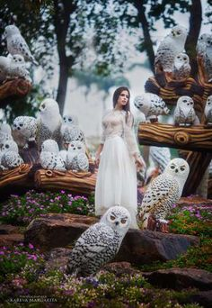 Russian based photographer, Margarita Kareva creates magnificent and surreal photos of women being transformed into fairy tale princesses and witches. She finds inspiration for photos like these from fantasy books and achieves the surreal look by mixing real props with photoshop.