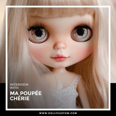 Get to know more about the creative process of Ma Poupee Cherie on this exclusive interview:�https://www.dollycustom.com/mapoupeecherie-interview/ . . . #blythe #dollycustom #blythecustom #interview #blythecustomizer #ooakblythe #customblythe #kawaii #doll #artdoll #dollstagram #blythestagram #blythelover #ブライス #dollphotography #doll #ooakblythe #blythedoll #customdoll #ooak #instadoll #mapoupeecherie #dollcollector #dollphoto #ブライス