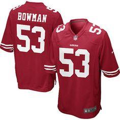 a705cb158 NaVorro Bowman San Francisco 49ers Nike Youth Team Color Game Jersey -  Scarlet Navorro Bowman