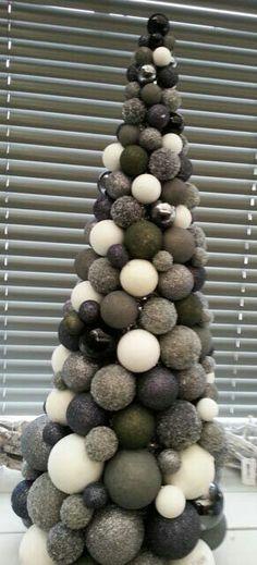 <3 #kerstboom #kerstballen