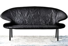 Creative Leather Sofa Design by Moroso - Doodle couch Cool Furniture, Modern Furniture, Furniture Design, Moroso Furniture, Italian Furniture, Leather Furniture, Sofa Design, Interior Design, Diy Chair
