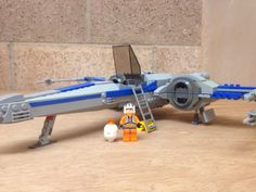 Lego x wing the force awakens