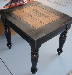 pine coffee table makeover | ... this just solidified my idea for my coffee table makeover! FINALLY