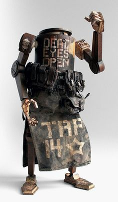 World War Robot | Artist: Ashley Wood