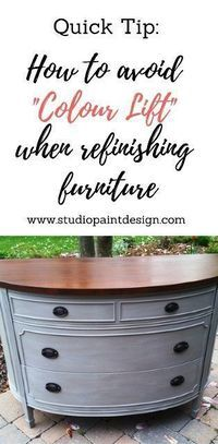 Painted Furniture How to avoid colour lift, Painted Dresser, duncanphyfe, demilune, colourwash, ideas, inspiration #paintedfurniture #colourlift #painteddresser #ideas #diy #inspiration