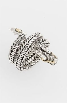 John Hardy 'Naga' Coil Ring available at #Nordstrom