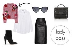 Designer Clothes, Shoes & Bags for Women Jason Wu, Boss Lady, Givenchy, Fendi, Prada, Shoe Bag, Polyvore, Stuff To Buy, Shopping