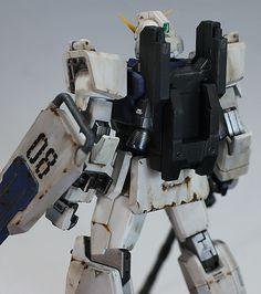 GUNDAM GUY: HGUC RX-79[G] Gundam Ground Type - Customized Build Ground Type, Real Robots, Gundam Model, Mobile Suit, Diorama, Badass, Guy, Models, Building