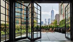 Historisk lagerbygning genopblomstret i New Yorker-stil