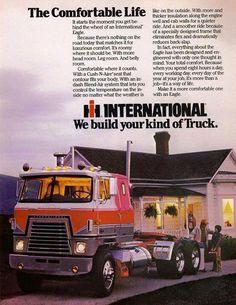 An IH Truck Advert.