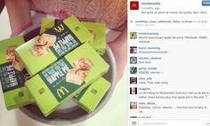 McDonald's sponsored #Instagram ad backfired. #SocialMedia #fail