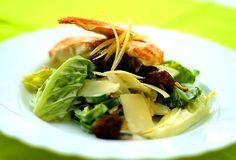 Ceasarsallad Cabbage, Healthy Recipes, Healthy Food, Salad, Meat, Chicken, Vegetables, Healthy Foods, Healthy Eating Facts
