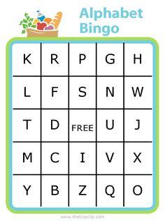 buchstaben bingo
