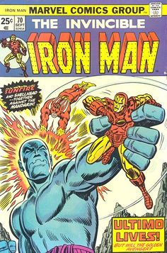 Other Info: with Sunfire and Ultimo. Cover Date: September Item: Iron Man Marvel Comics. TPBs count as the number of comics they reprint. I want your comics to arrive in the advertised condition just as much as you do. Marvel Comics Superheroes, Marvel Comic Books, Comic Books Art, Book Art, Marvel Art, Marvel Heroes, Marvel Characters, Cartoon Characters, Tony Stark