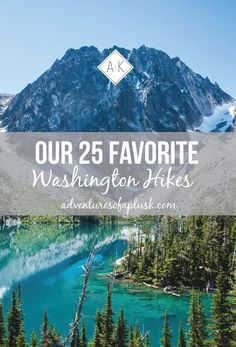 Looking for the best hikes in Washington? We're sharing 37 of our favorites, ranging in skill level and full of alpine lakes, mountain views, & waterfalls! Washington Things To Do, Seattle Washington, Hiking In Washington State, Seattle Hiking, Seattle Travel, Colorado Hiking, Colorado Springs, Seattle Food, Places To Travel