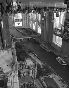 Grand Central Dilemma.Fotos manipuladas por Thomas Barbey. Surreal Photo Manipulations by Thomas Barbéy