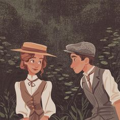 """Bethany Stancliffe on Instagram: """"Forever drawing inspiration from Anne and Gilbert 🌸 #anneofgreengables"""""""