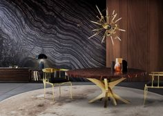 Luxury In The Dining Room: Supernova Chandelier