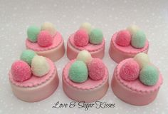 Fondant topped chocolate covered Oreos Gumdrop by lovesugarkisses, $45.00