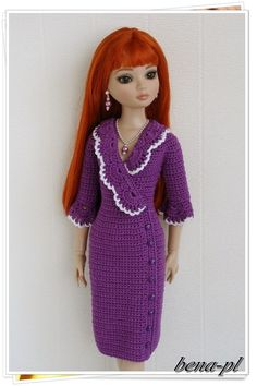 """Bena PL Clothes for Ellowyne Wilde Amber Lizette Prudence 16"""" OOAK Outfit 