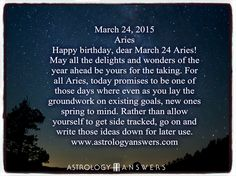 The Astrology Answers Daily Horoscope for Monday, March 24, 2015 #astrology