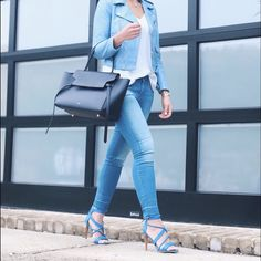 "Joe's Jeans Blue Heels size 8.5 Joe's Jeans Blue Heels size 8.5 heel height 4"" worn once ❌ sorry no trades - price is firm even if bundled ❌ Joe's Jeans Shoes Heels"
