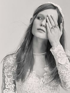 Look 5 | Photography: Courtesy of Elie Saab. Read More:  http://www.insideweddings.com/news/fashion/contemporary-styles-from-elie-saab-bridal-spring-2017/2962/