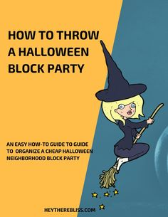 How to plan a Halloween Neighborhood Block Party | Hey There Bliss