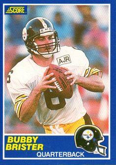 1989 Rookie Starting Lineup-Slu-NFL-Bubby BRISTER-Pittsburgh Steelers N