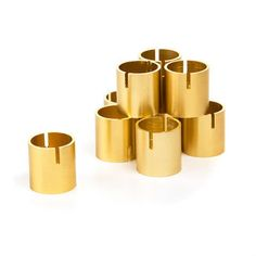 Set of 10 Table Number Holder Gold Place Card Holders